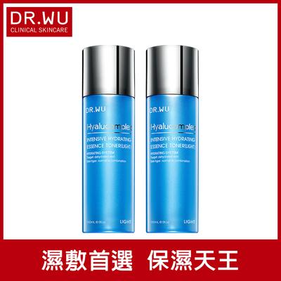 折100★(買一送一) DR.WU玻尿酸保濕精華化妝水(清爽型)150ML