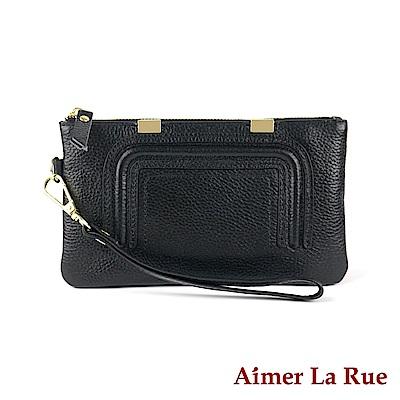 Aimer La Rue 手拿包 細緻質感真皮系列 (三色)