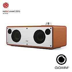 【GGMM】M3 藍芽&Wifi皮革音響-駝色