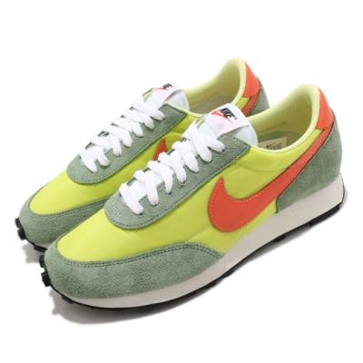 Nike 休閒鞋 DBreak 運動 男鞋 基本款 復古 球鞋 穿搭 簡約 麂皮 綠 橘 DB4635300