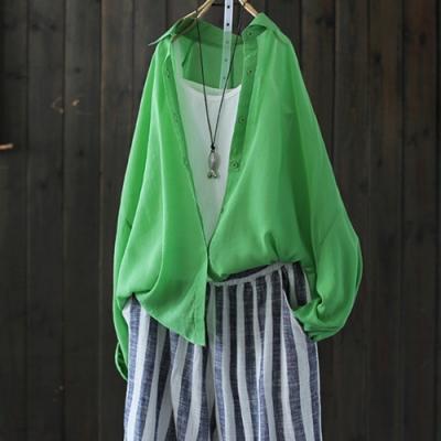 與冰箱的戀愛長袖襯衫外套輕薄遮陽防曬衣-設計所在