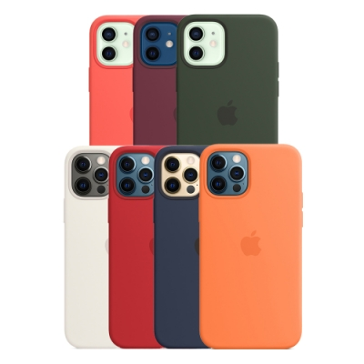 Apple 原廠 iPhone 12 / 12 Pro MagSafe 矽膠保護殼 (台灣公司貨)