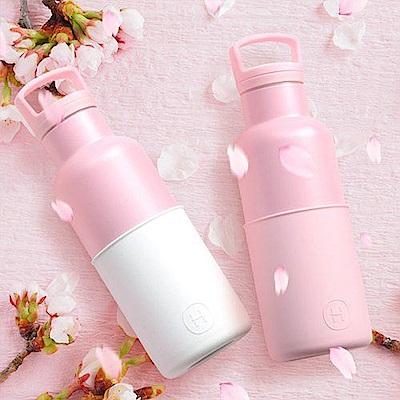[時時樂限定]美國HYDY時尚保溫瓶480ml-太妃玫瑰粉/雪白玫瑰粉