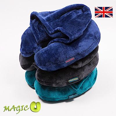 都鐸皇家 魔幻多功能保暖斗篷枕 皇家藍、灰綠、土耳其藍 時尚款三色組