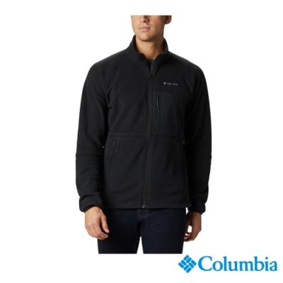 Columbia 哥倫比亞 男款 -  長刷毛外套-黑色 UAE07810BK