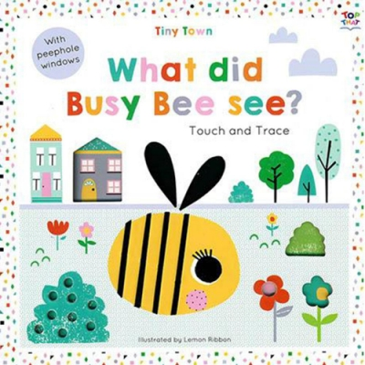 Tiny Town:What Did Busy Bee See? 趣味探索硬頁書