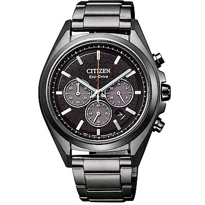 CITIZEN Eco-Drive極限巔峰時計腕錶/鈦金屬/CA4394-54E