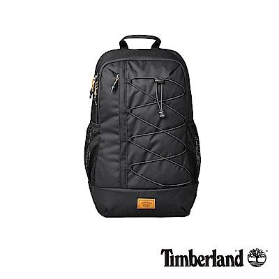Timberland 中性黑色防水休閒後背包|A1CZM