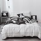 3-HO-100%純棉-單人床包/枕套組-空白日記