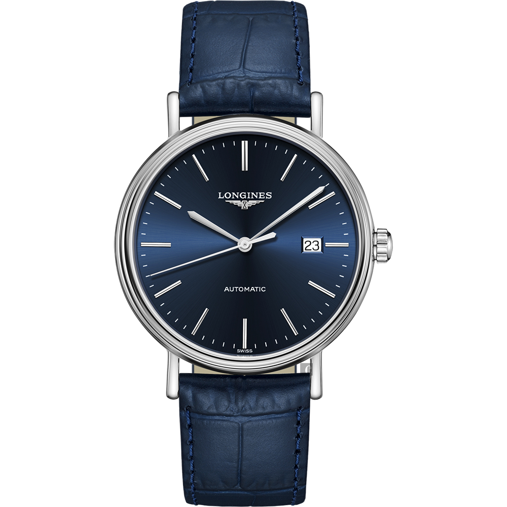 LONGINES 浪琴 Presence 系列藍調機械錶-40mm L49224922