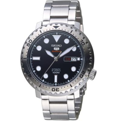 SEIKO 精工5號 復刻時尚機械錶(SPRC61J1)45mm