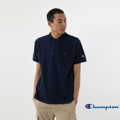 Champion Campus單寧色Polo衫 深藍色
