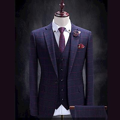拉福   領帶窄領帶6cm領帶拉鍊領帶(紅變形)