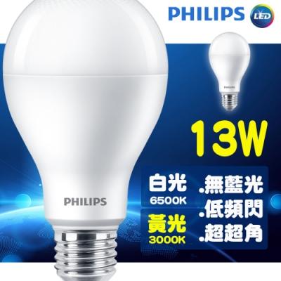(6入組)飛利浦 13W LED燈泡 1521~1600lm [限時下殺]