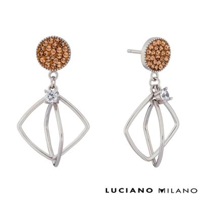 LUCIANO MILANO 繽紛詩篇純銀耳環