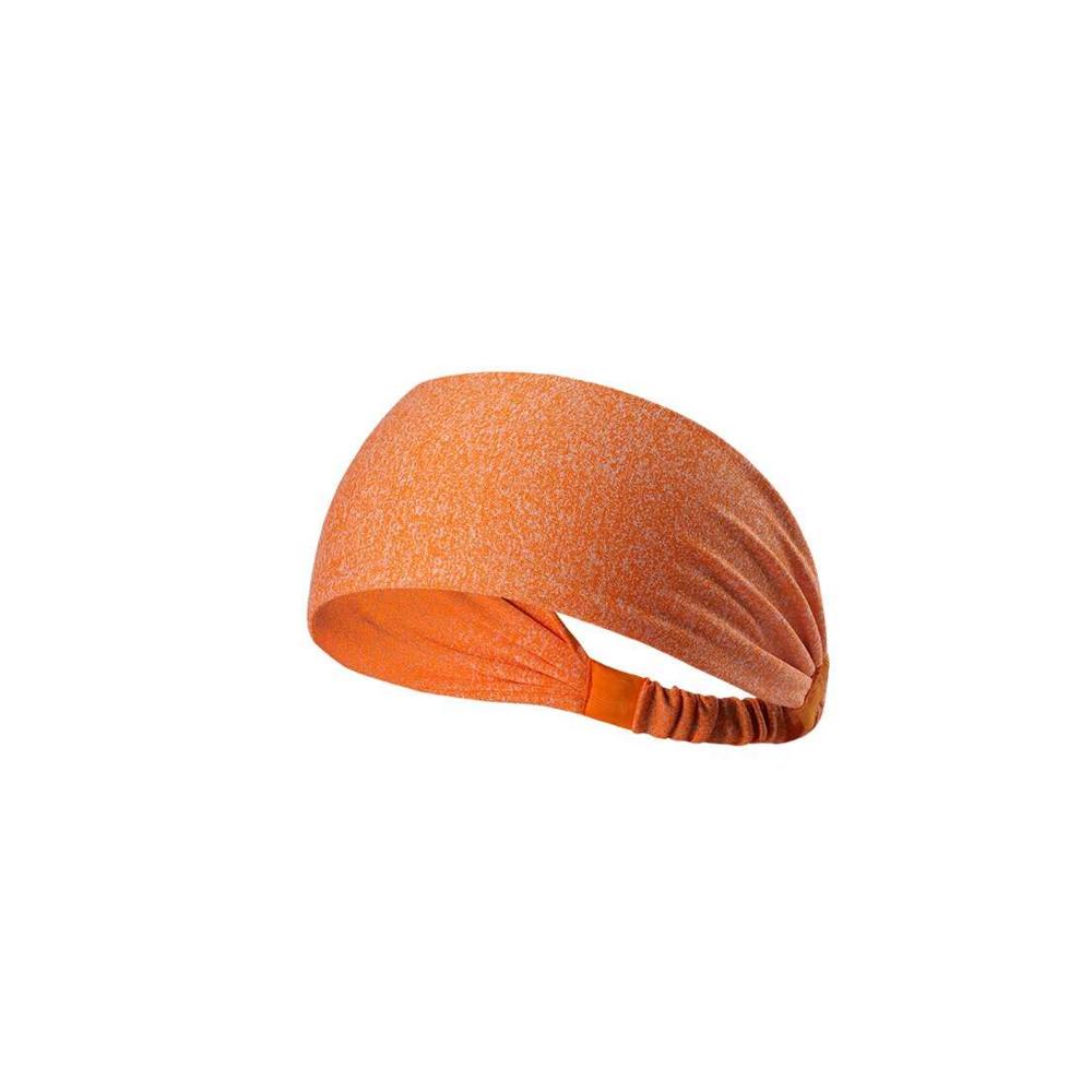 狐狸姬 彈力瑜珈髮帶吸汗運動髮帶頭套寬防滑 (單髮帶)