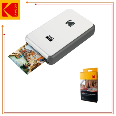 KODAK 柯達 P210 即可印口袋相印機 (公司貨) 贈送20張貼紙相紙