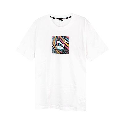 PUMA 男 流行系列 WILD 短袖T恤(M)