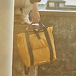 RAWROW-鐵道系列-13吋兩用後背包(手提/後背)-芥末黃-RBP600MU