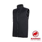 【Mammut】Rime Light 化纖背心 黑色 男款 #1013-00970