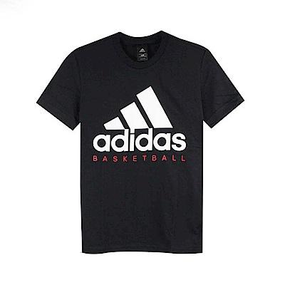 adidas男ADI BB GFX TEE圓領T短