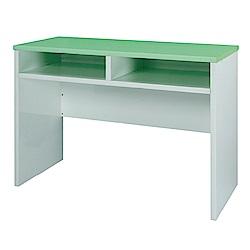 綠活居 阿爾斯簡約3.3尺環保塑鋼書桌/電腦桌(三色可選)-100x60x75cm免組