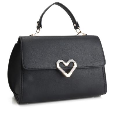 法國盒子 美型話題時尚三用包-黑色