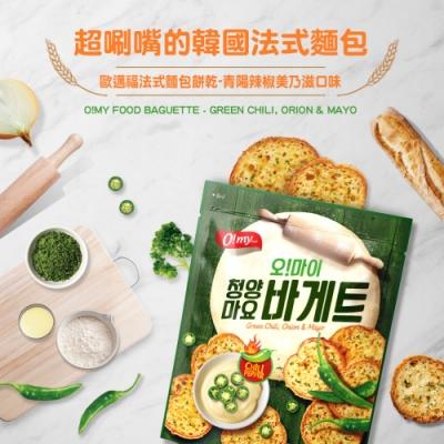 歐邁福 青陽辣椒美乃滋麵包餅乾300g