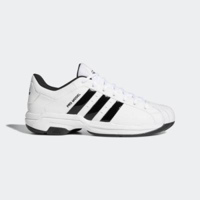 ADIDAS Pro Model 2G Low 男籃球鞋-白-FX4981