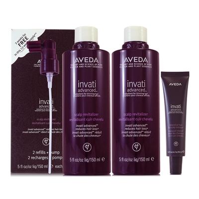 AVEDA 蘊活菁華滋養液150ml*2(環保組)+蘊活菁華髮根強韌膜40ml(正統公司貨)