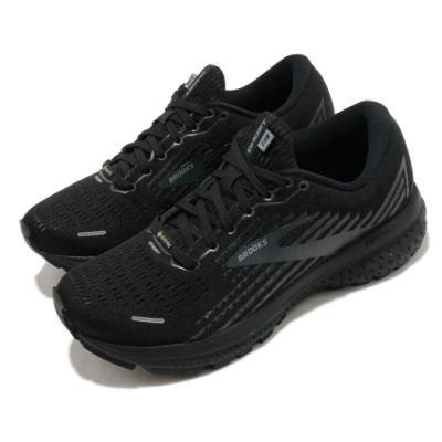 Brooks 慢跑鞋 Ghost 13 GTX 運動 女鞋 路跑 緩震 DNA科技 健身 球鞋 黑 灰 1203331B072