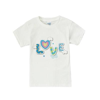 baby童衣 獨家自印趣味印花白色短袖上衣  66246