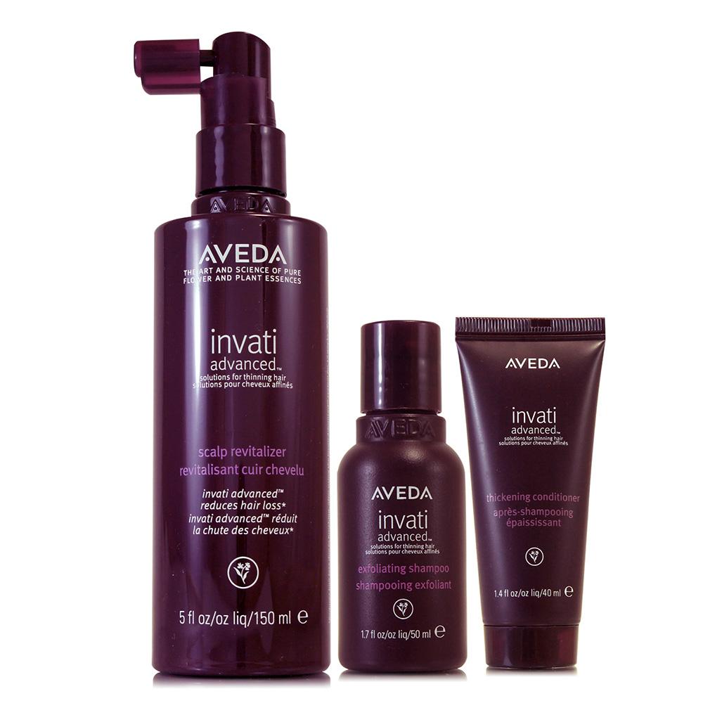 AVEDA 蘊活菁華滋養液150ml(升級版)+蘊活洗髮精50ml+蘊活潤髮乳40ml