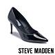 STEVE MADDEN-LILLIE 品牌經典素面尖頭高跟鞋-鏡面黑 product thumbnail 1
