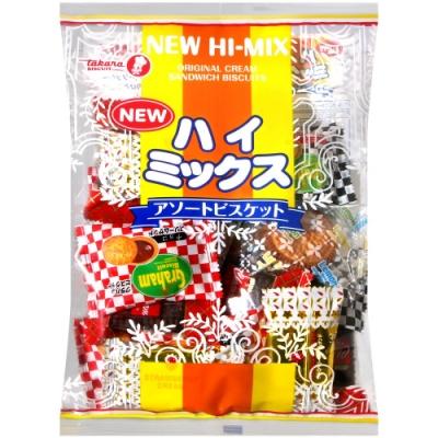 寶製果 NEW HI-MIX綜合夾心餅乾(226g)
