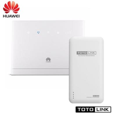 HUAWEI華為 B315S 4G上網行動/家用 兩用特惠組