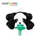 美國 nookums 寶寶可愛造型安撫奶嘴/玩偶-熊貓寶寶