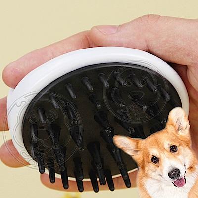 DYY》天然竹碳纖維寵物美容SPA洗澡梳