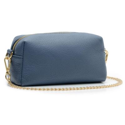 2R 進口牛皮luxurious手拎萬用包 水漾藍