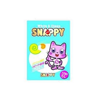 SNAPPY司那比固まる-脱臭・抗菌-檸檬香細砂 5L (六包組)