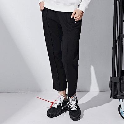 CACO-九分運動褲-情侶款(兩色)-女【RNC036】