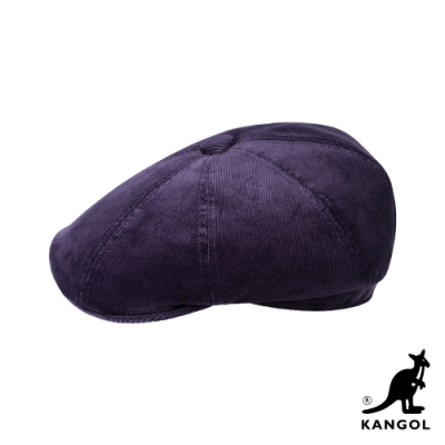 KANGOL-HAWKER 燈芯絨鴨舌帽-紫色