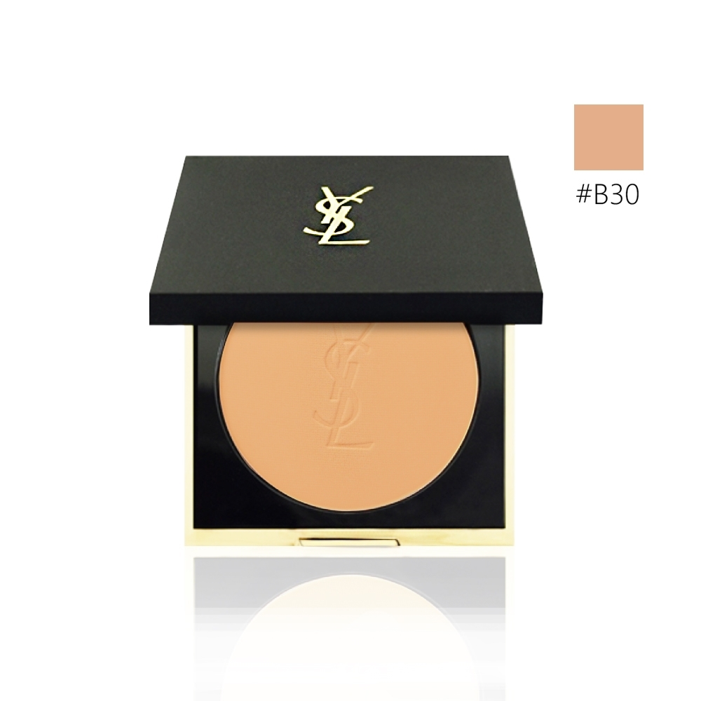 (即期品)YSL 恆久完美柔霧蜜粉餅#B30 8.5g