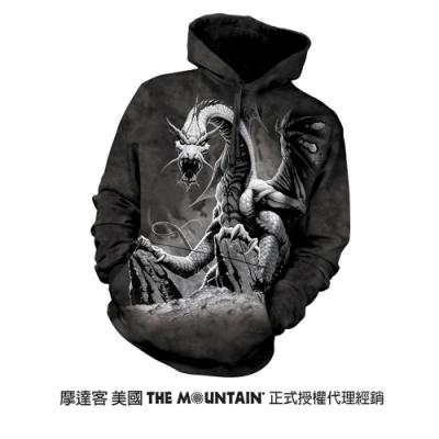摩達客 美國進口The Mountain 惡龍 長袖連帽T恤
