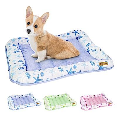YSS 玉石冰雪纖維散熱冷涼感寵物床墊/睡墊L(3色)