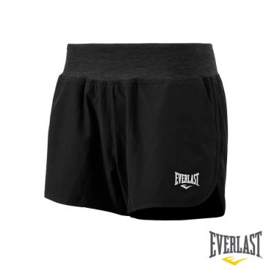 【EVERLAST】女款休閒運動短褲-黑色