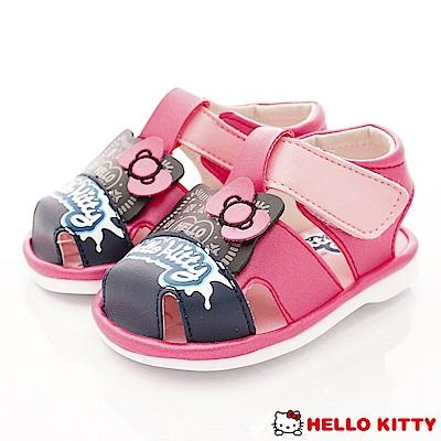 HelloKitty童鞋 凱蒂嗶嗶學步鞋款 EI18104桃(寶寶段)
