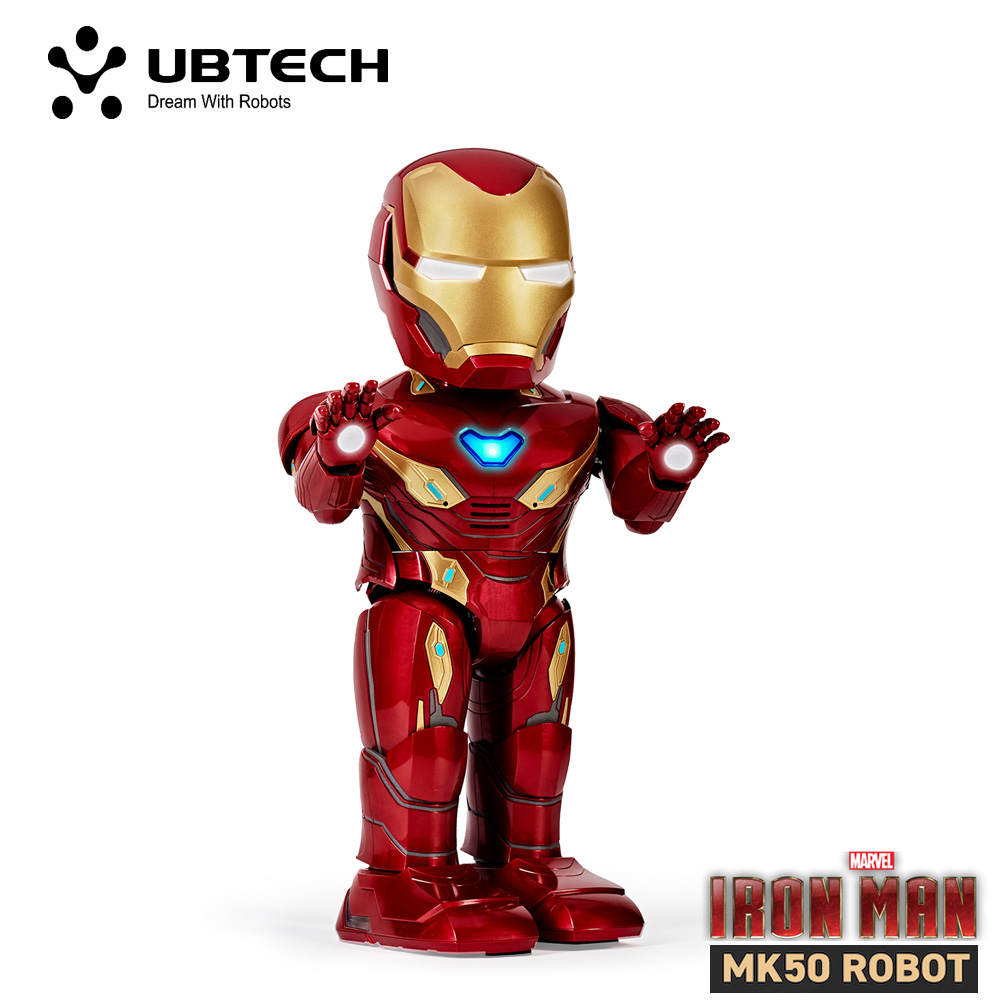 UBTech MK50 漫威鋼鐵人(公司貨)