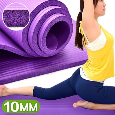 加厚10MM瑜珈墊(送束帶)