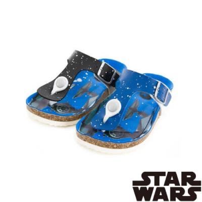 (雙11)StarWars星際大戰 童鞋  輕量夾腳拖鞋-黑.藍